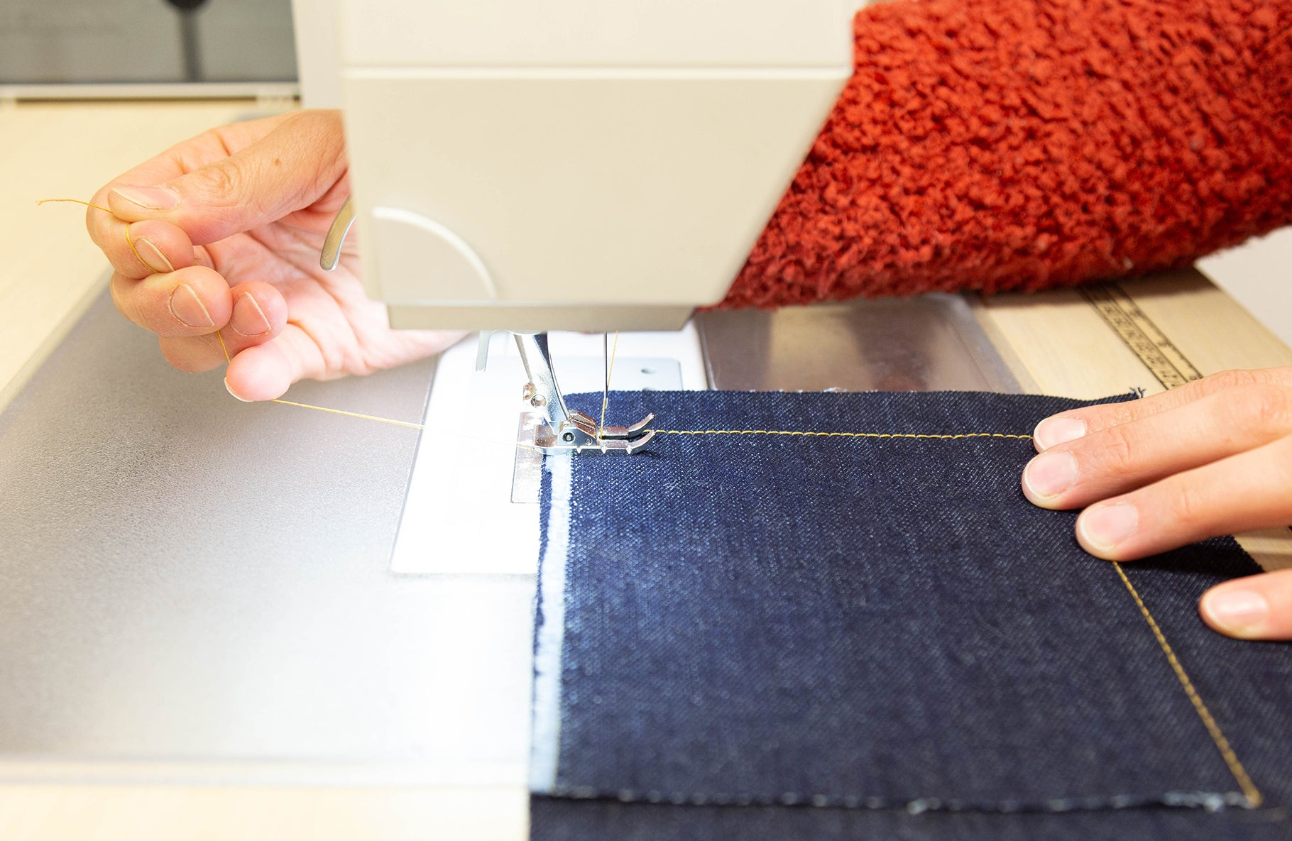 Our Top Tips for Professional Topstitching: Thread Handling | Grainline Studio