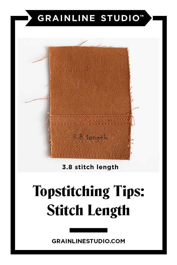 Our Top Tips for Professional Topstitching | Grainline Studio