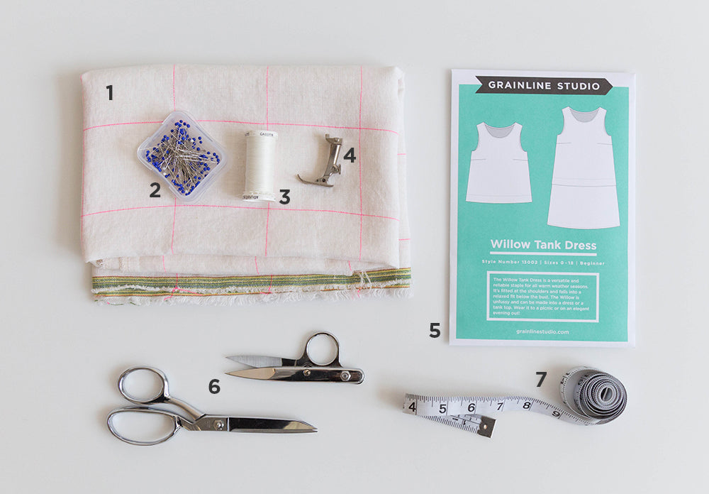 Willow Sew-Along Supplies