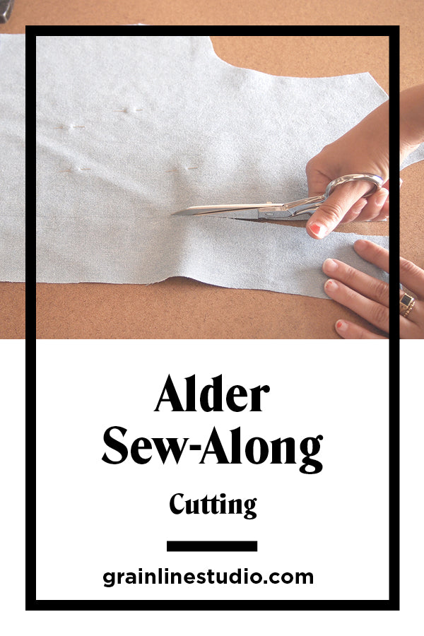 Alder Sew–Along Cutting | Grainline Studio