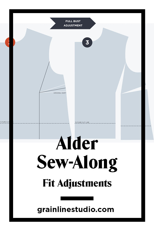 Alder Sew-Along Fit Adjustments | Grainline Studio