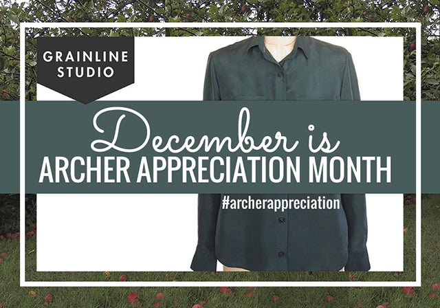 Grainline Studio | Archer Appreciation Month
