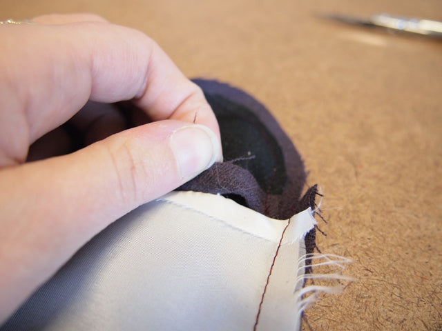 Sewing Tutorial | How to Bag a Jacket Lining