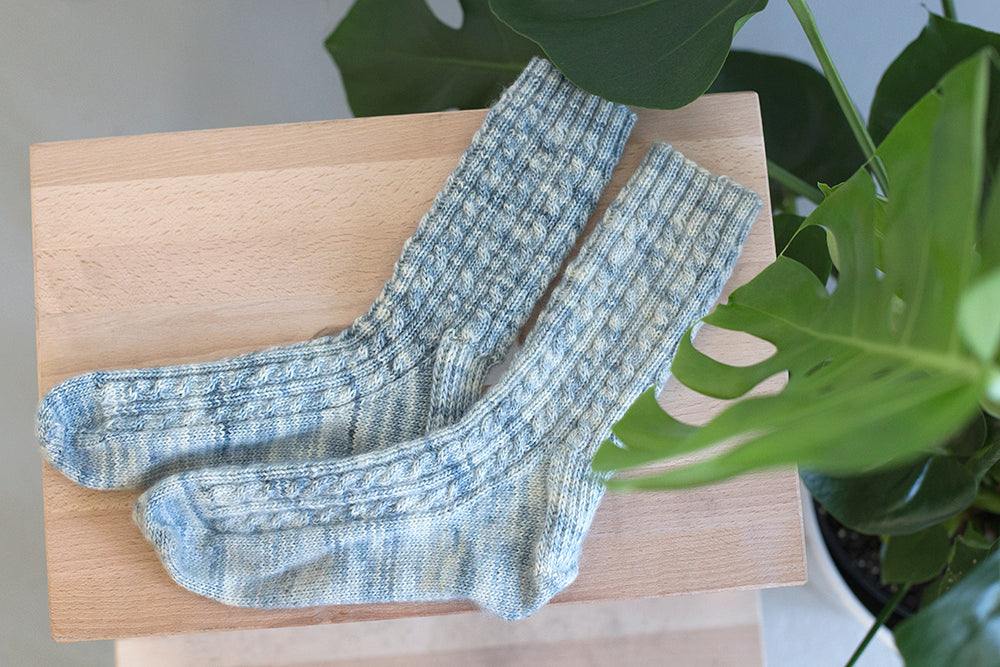 Whitewash Socks | Grainline Studio