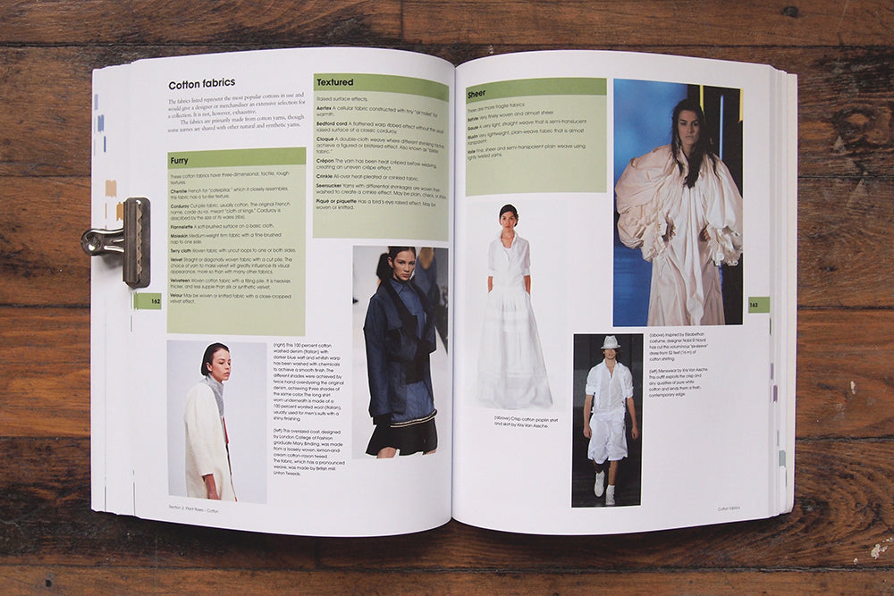 Grainline Studio | Book Report | Fabric for Fashion: The Complete Guide & The Swatch Book