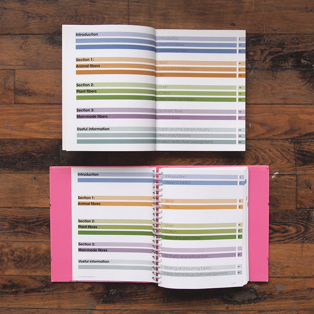 Fabric for Fashion: The Complete Guide & The Swatch Book