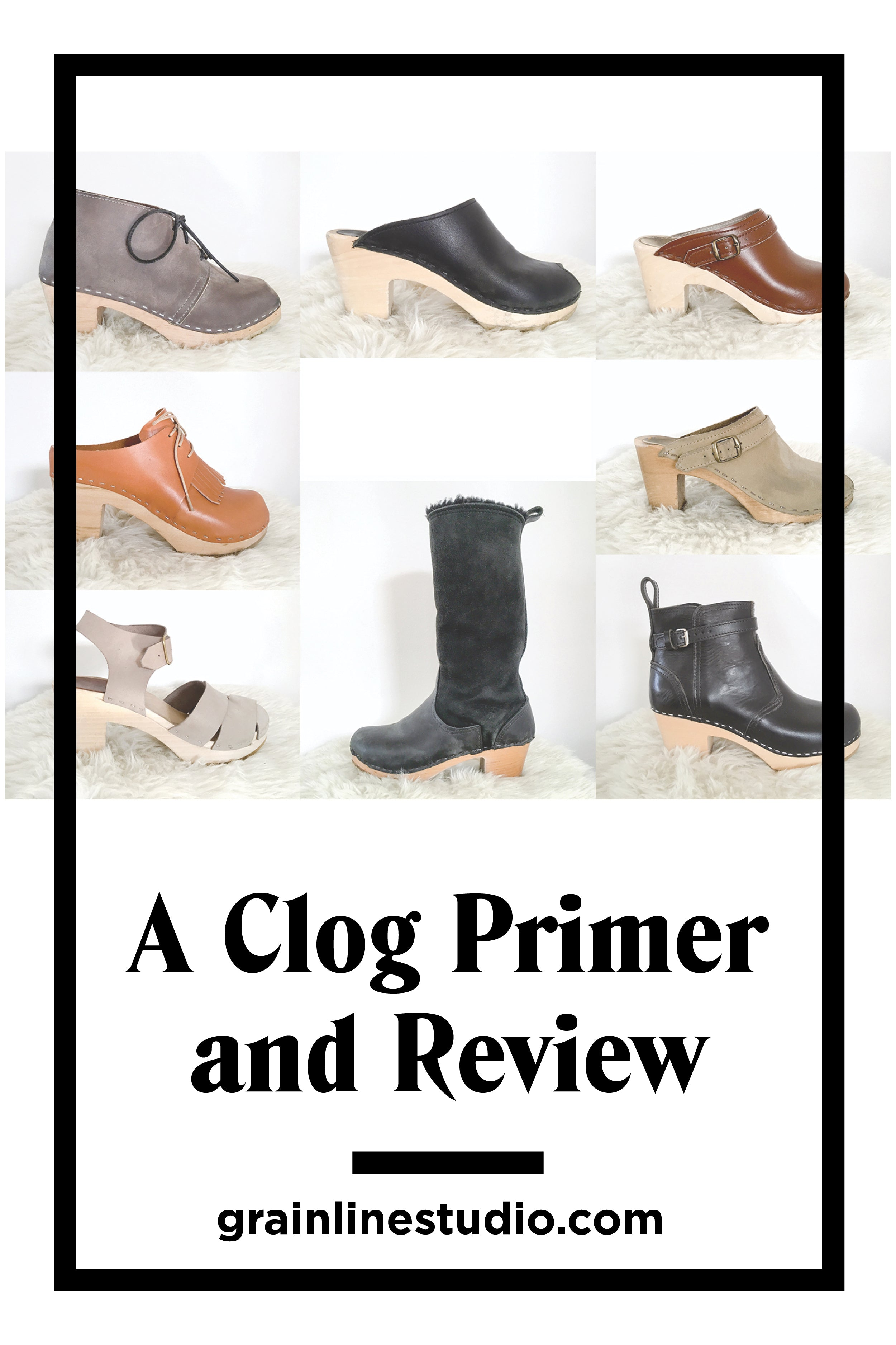 All About Clogs - comparing my favorite brands and more | Grainline Studio