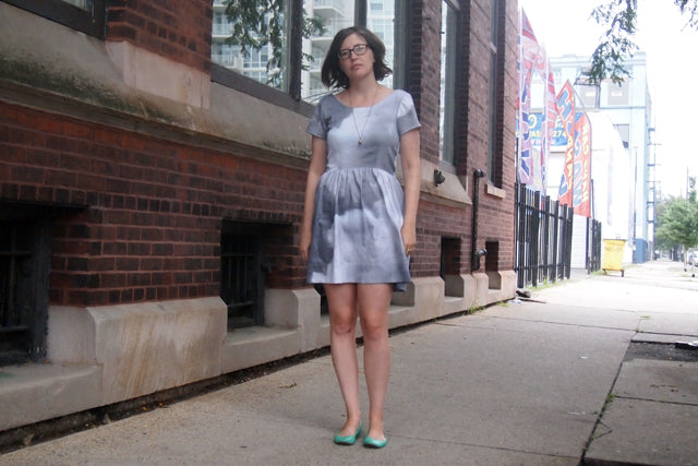 Summer Wardrobe | Cloudy Day Dress | Grainline Studio