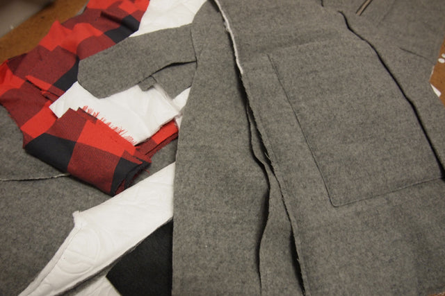 Progress Report | A New Winter Coat | Grainline Studio