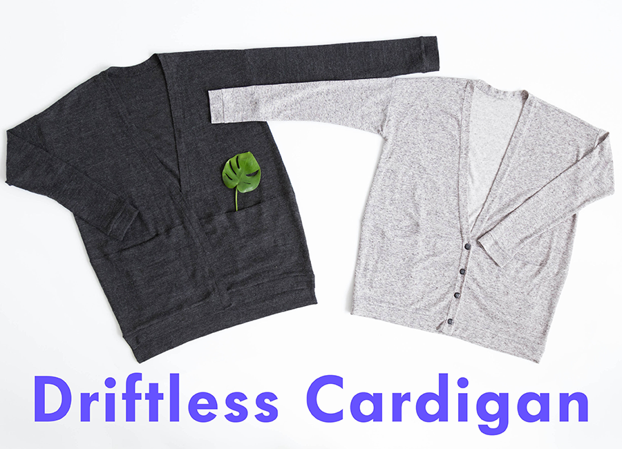 Driftless Cardigan | Grainline Studio