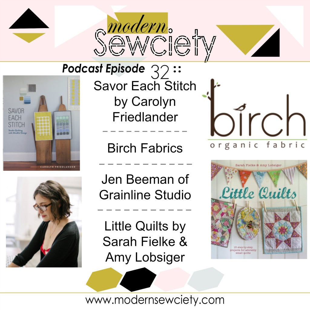Grainline Studio | Modern Sewciety Podcast