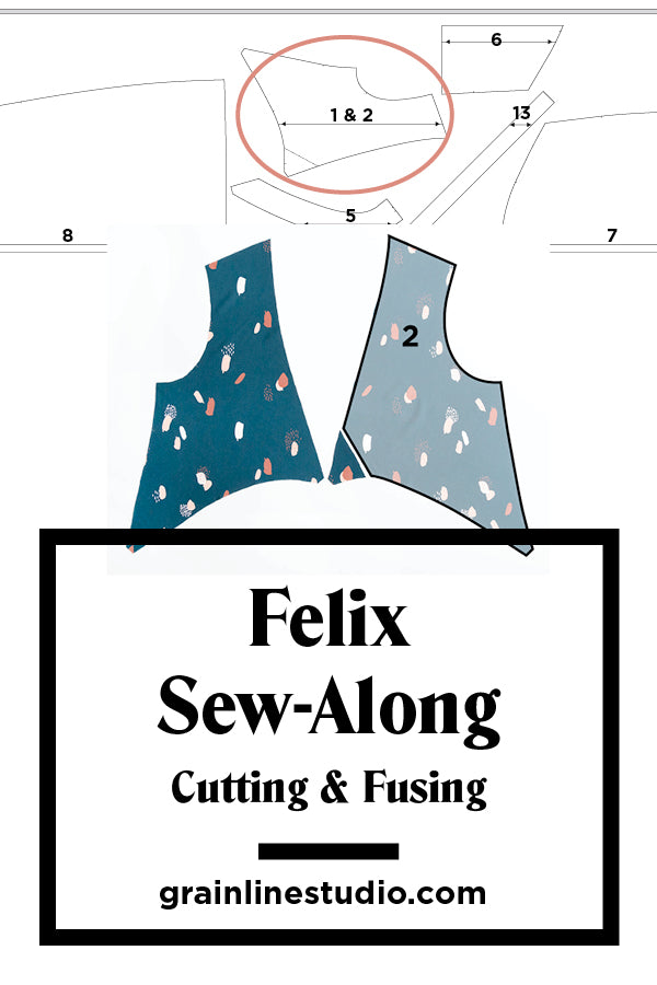 Felix Sew-Along | Cutting and Fusing | Grainline Studio