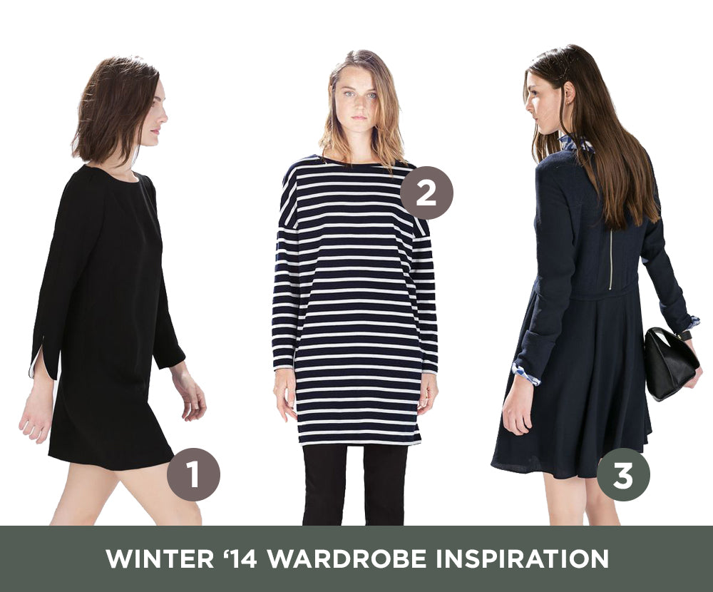 Grainline Studio | Winter '14 Wardrobe Inspiration