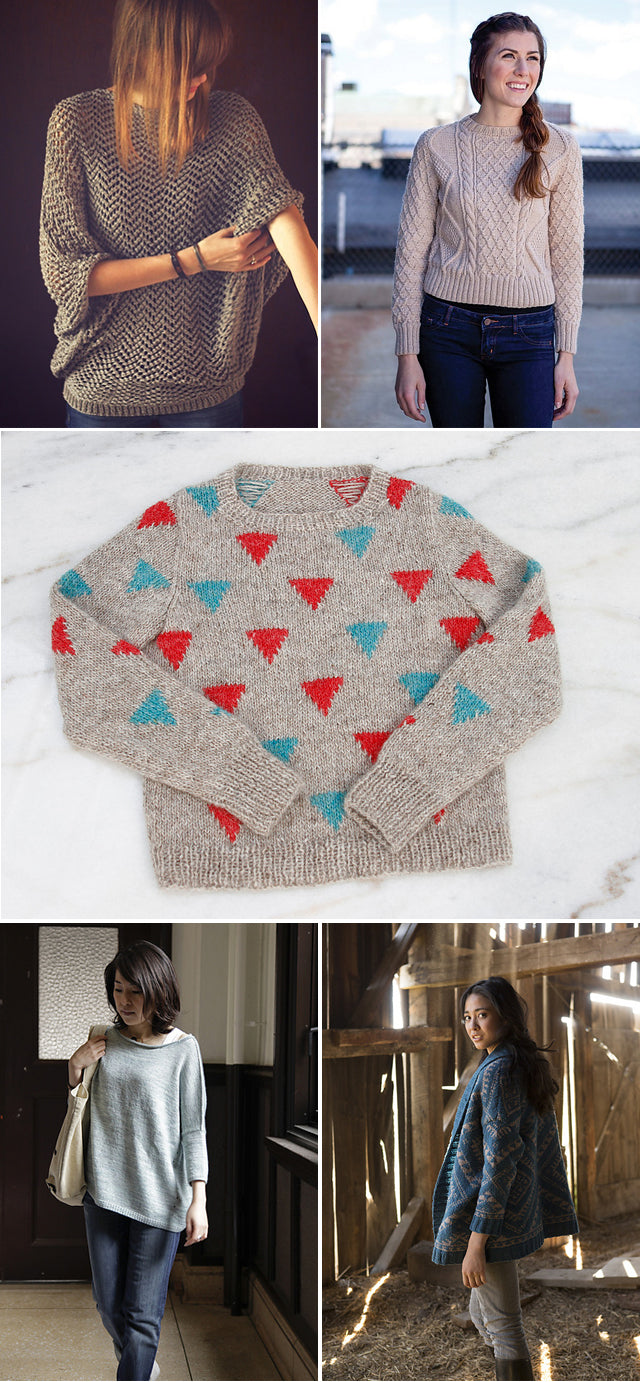 Grainline Studio | Fall Knitting Inspiration