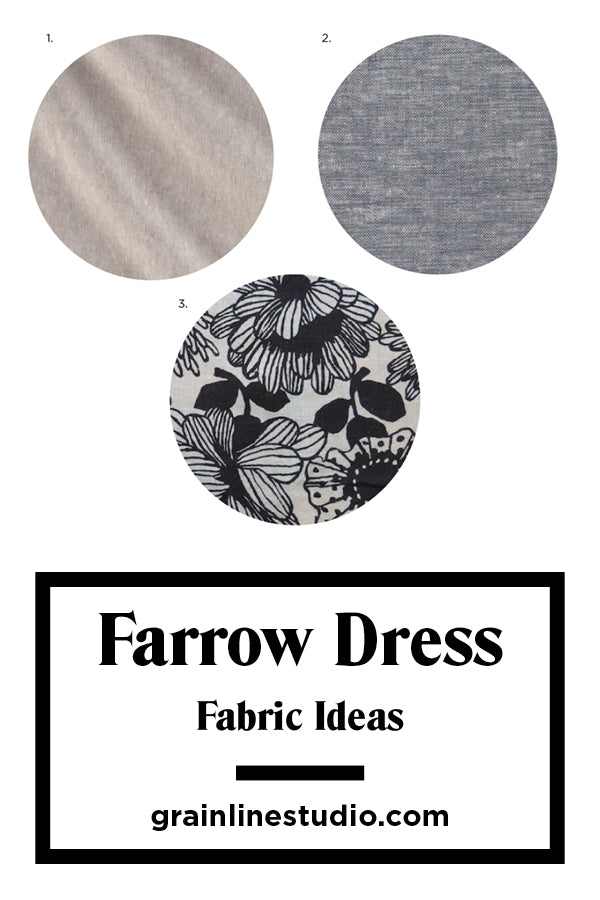 Farrow Dress Sew-Along: Fabric Ideas | Grainline Studio