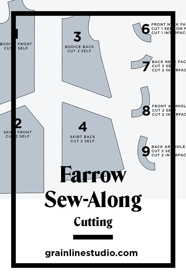 Farrow Sew-Along: Cutting