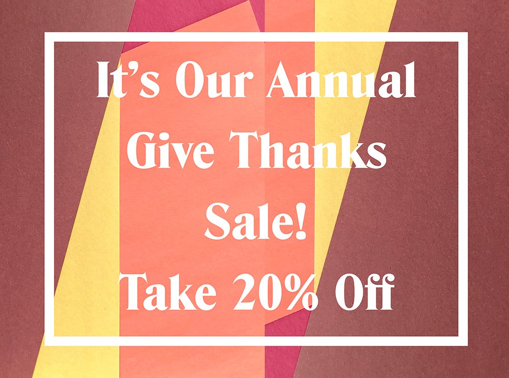 Give Thanks Sale | Grainline Studio