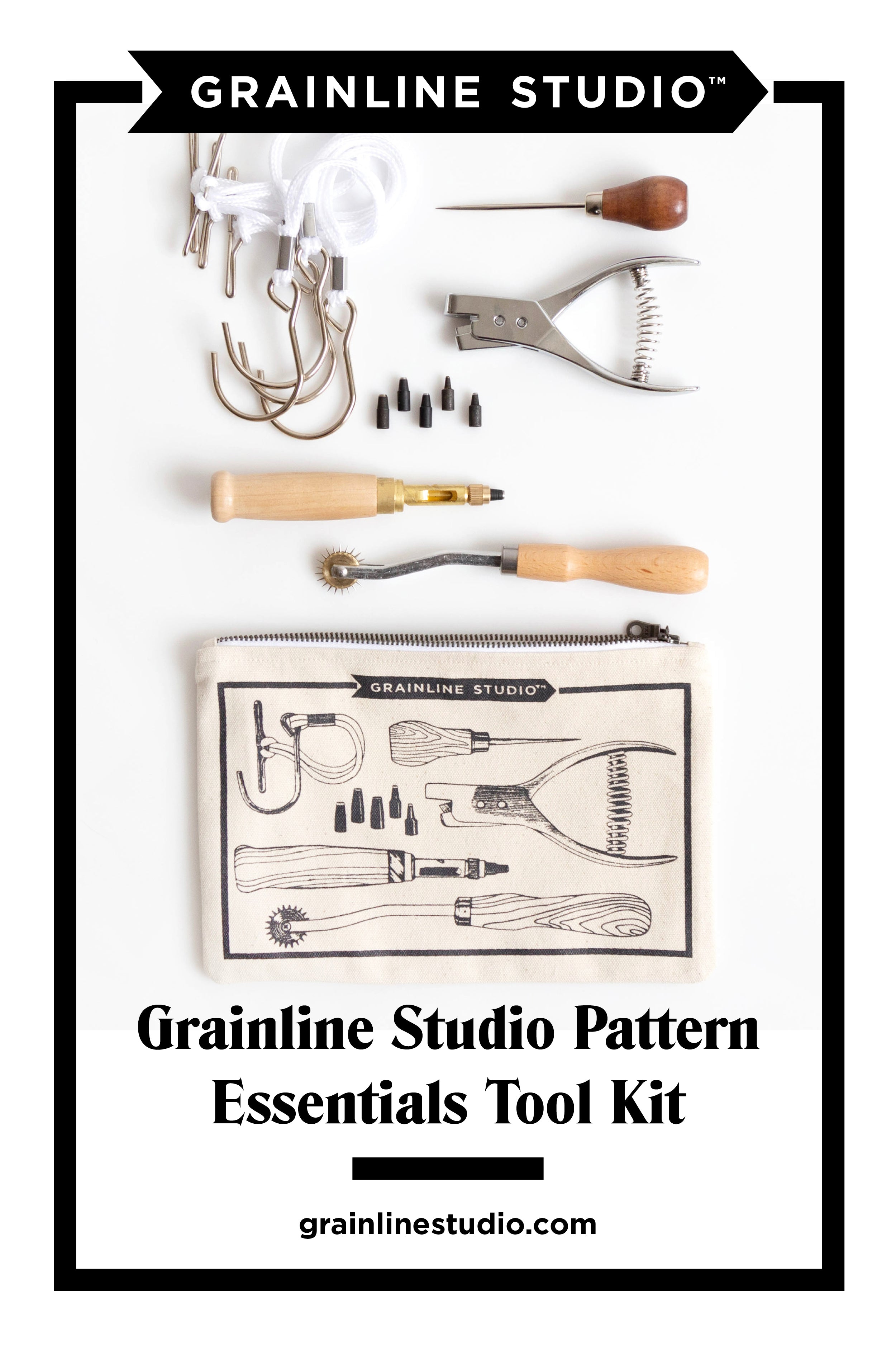 All About our Pattern Essentials Tool Kits | Tool Pouch | Grainline Studio