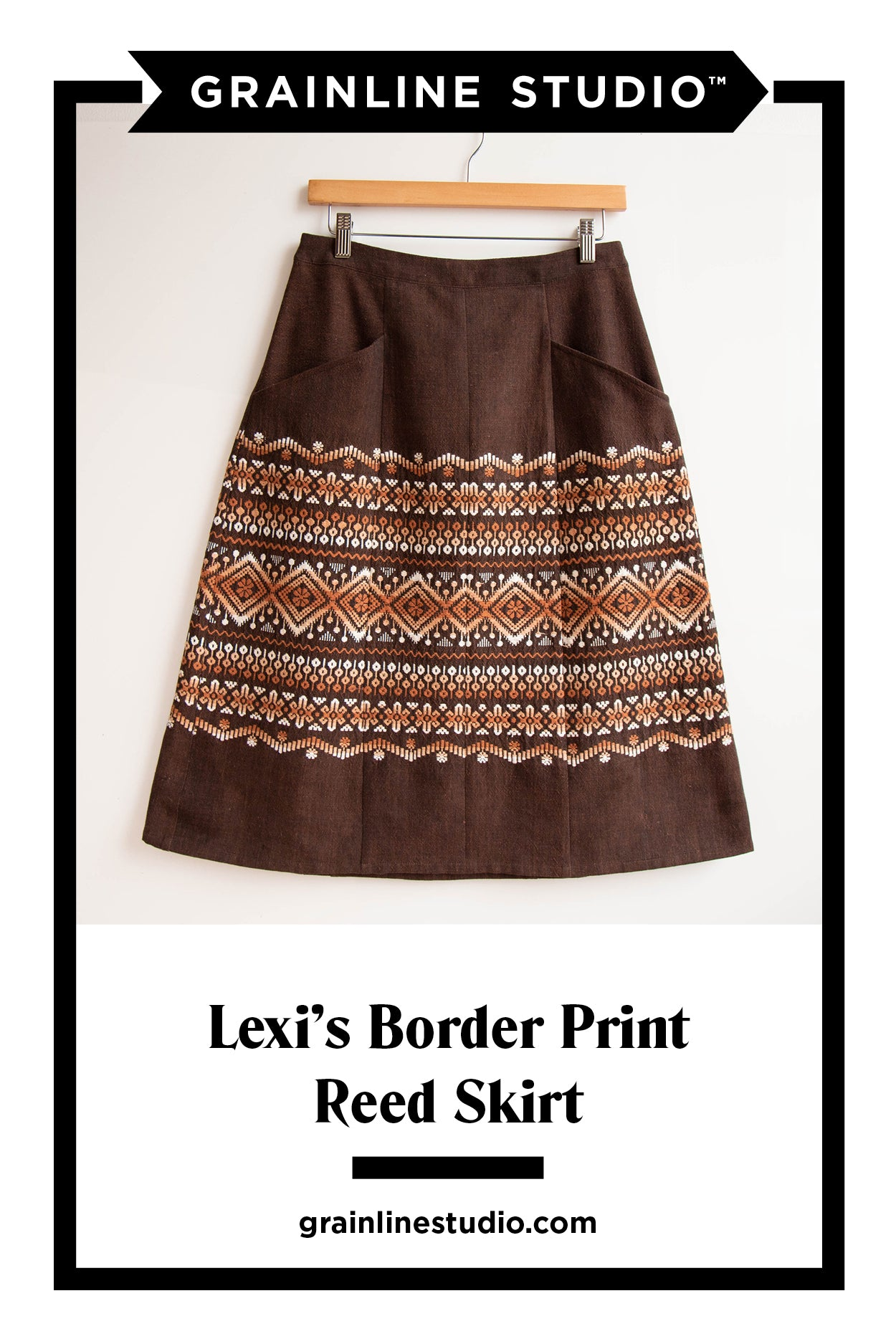 Lexi's Reed Skirt | Grainline Studio