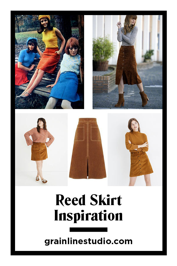 Reed Skirt Sew-Along: Pattern Inspiration | Grainline Studio