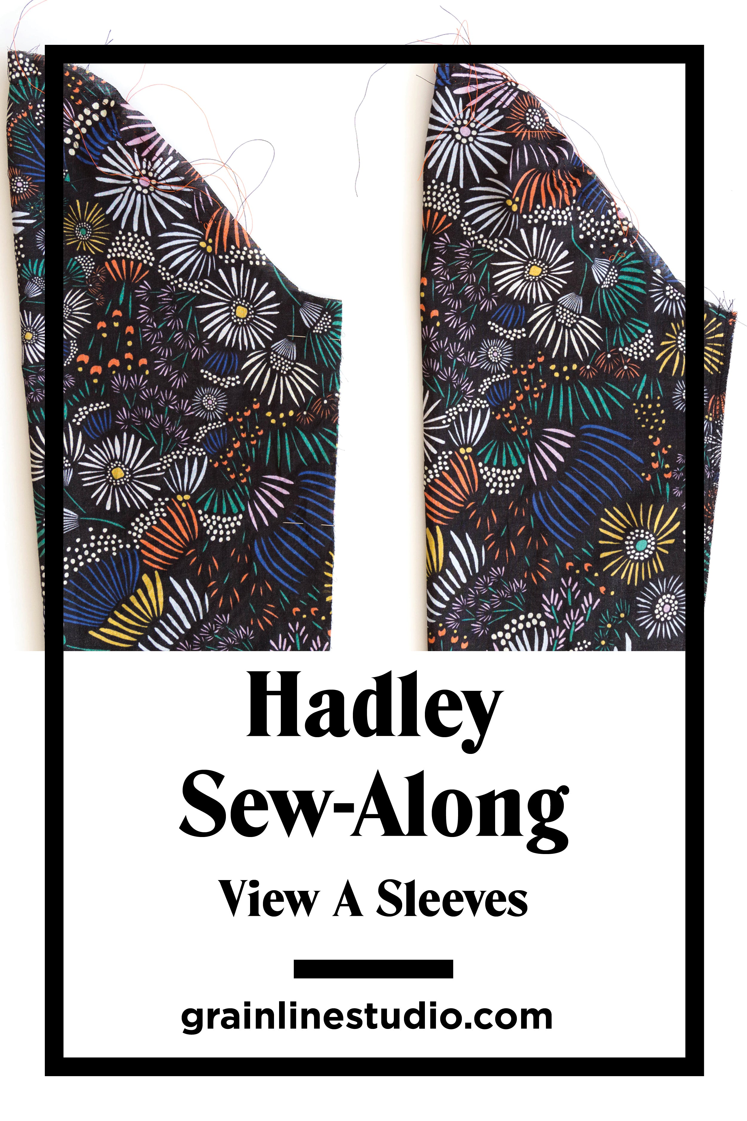 Hadley Sew-Along: View A Sleeves | Grainline Studio