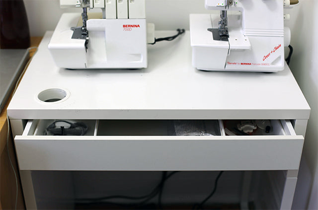 Grainline Studio | IKEA Serger Table