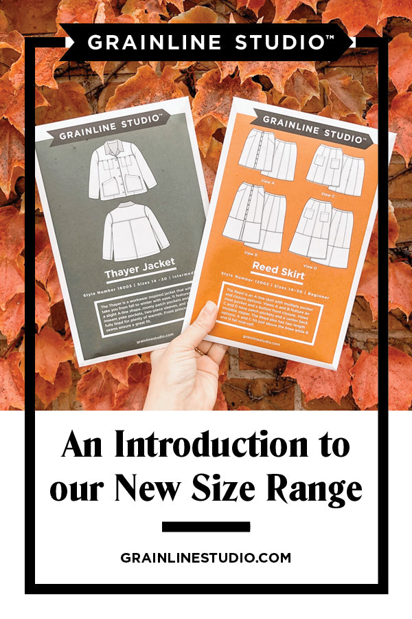 An Introduction to our New Size Range US 14 – 30 | Grainline Studio