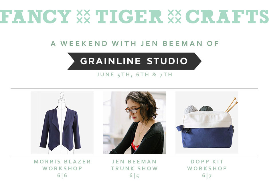 Grainline Studio at Fancy Tiger