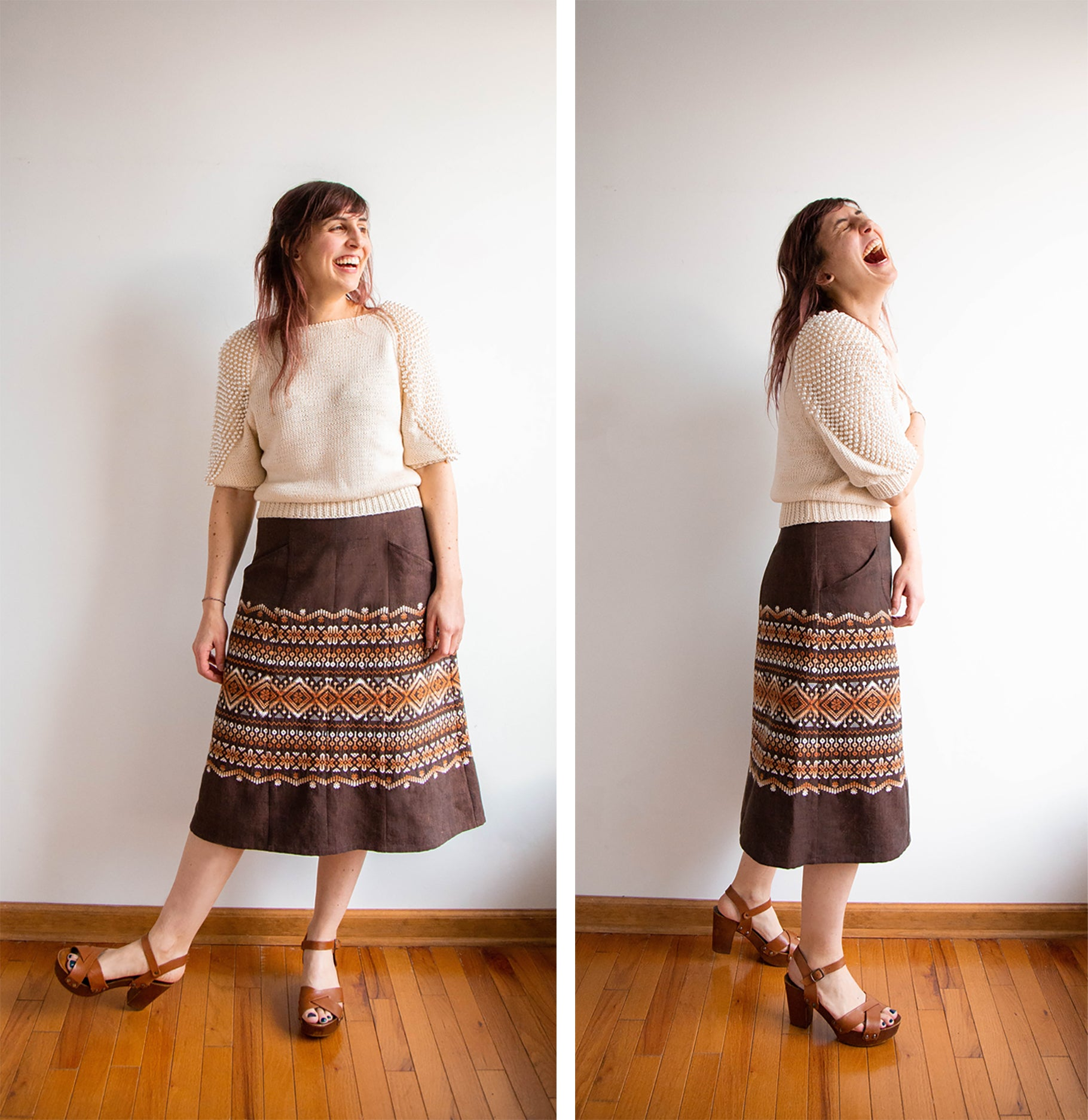 Lexi Reed Skirt | Grainline studio