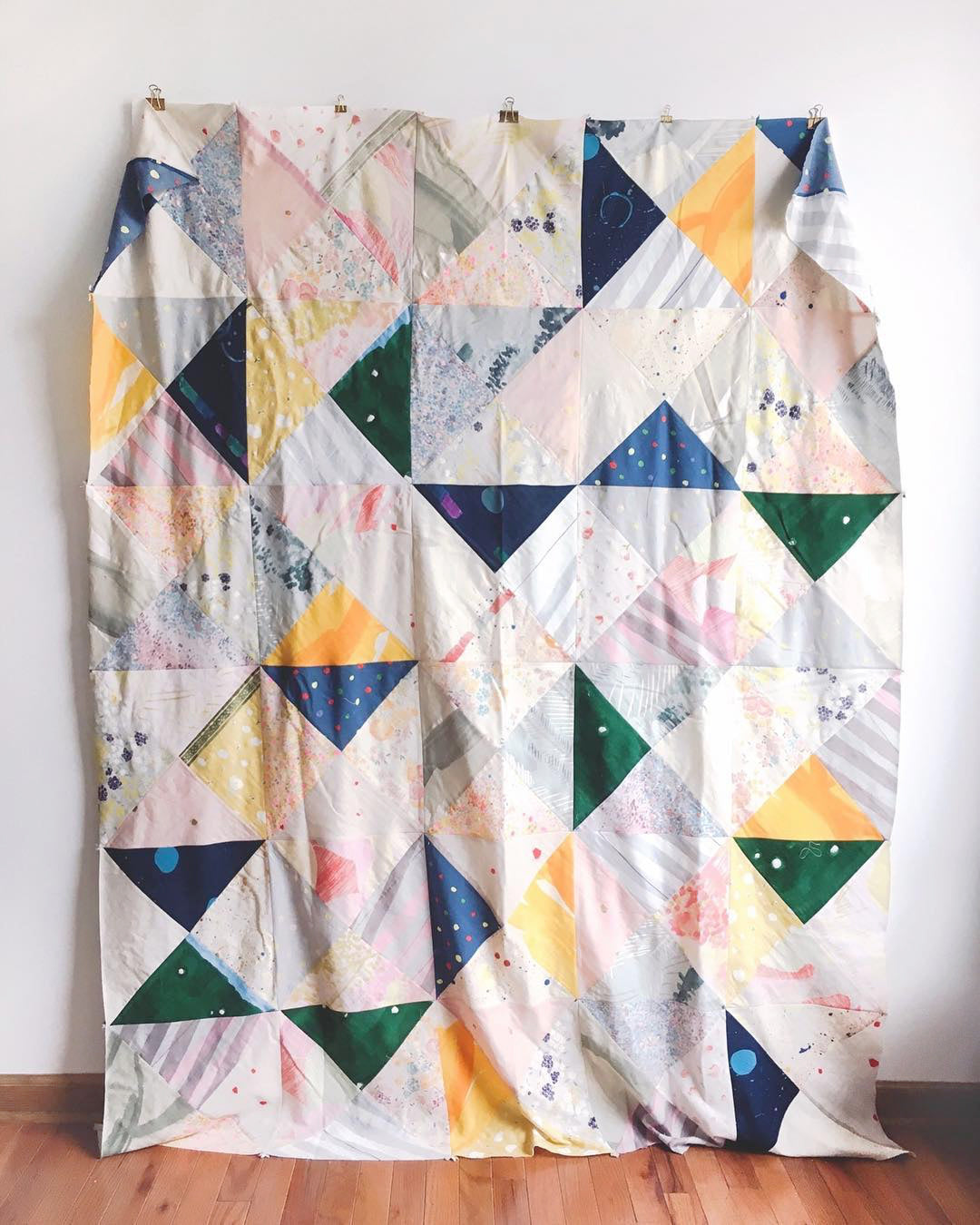 Life Lately v04 | Nani Iro Quilt | Grainline Studio