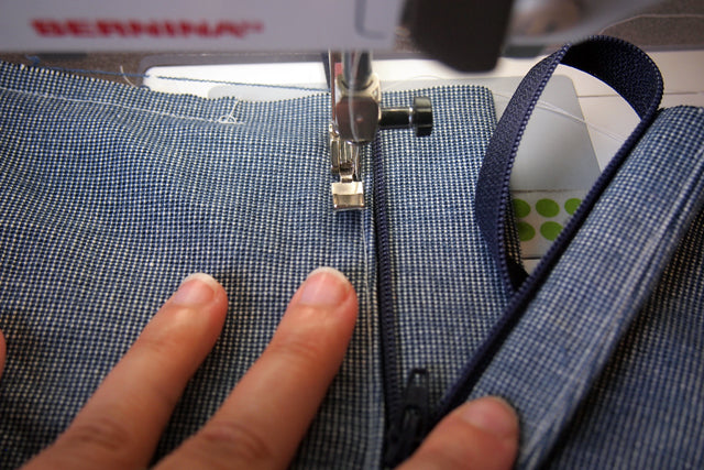 Inserting a Traditional Fly Front Zipper | Grainline Studio