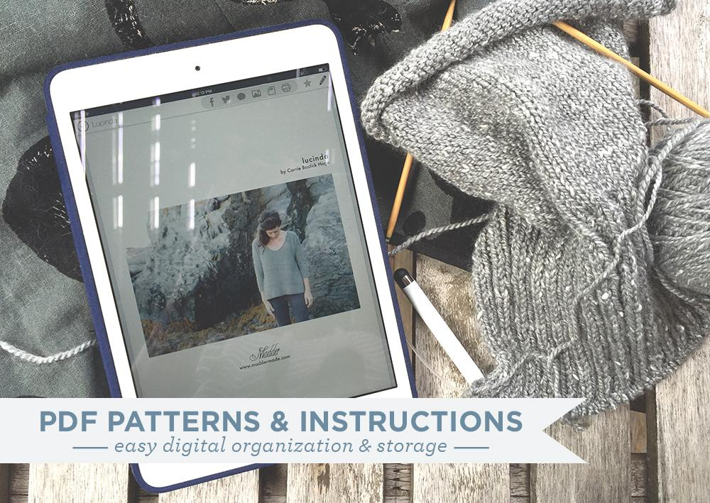 Organizing your PDF patterns and instructions | Grainline Studio