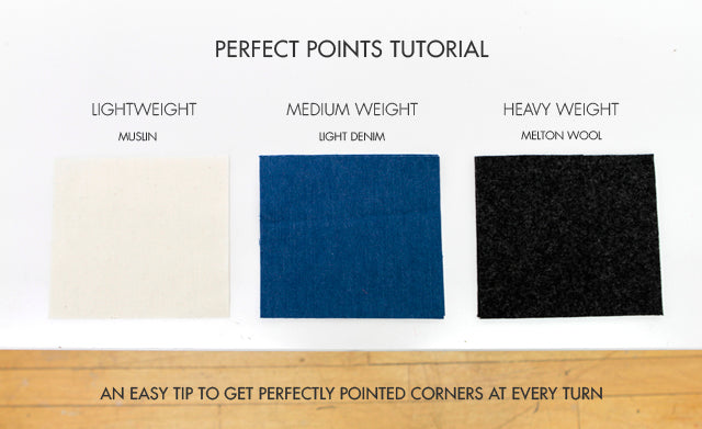 Tips & Tricks for Perfect Points and Corners | Grainline Studio