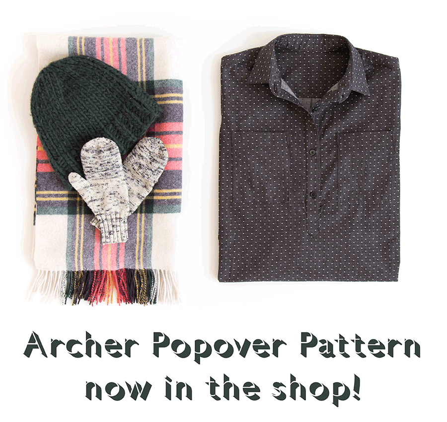 Archer Popover Pattern | Grainline Studio