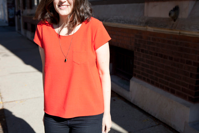 fall wardrobe part six | red wool scout | Grainline Studio