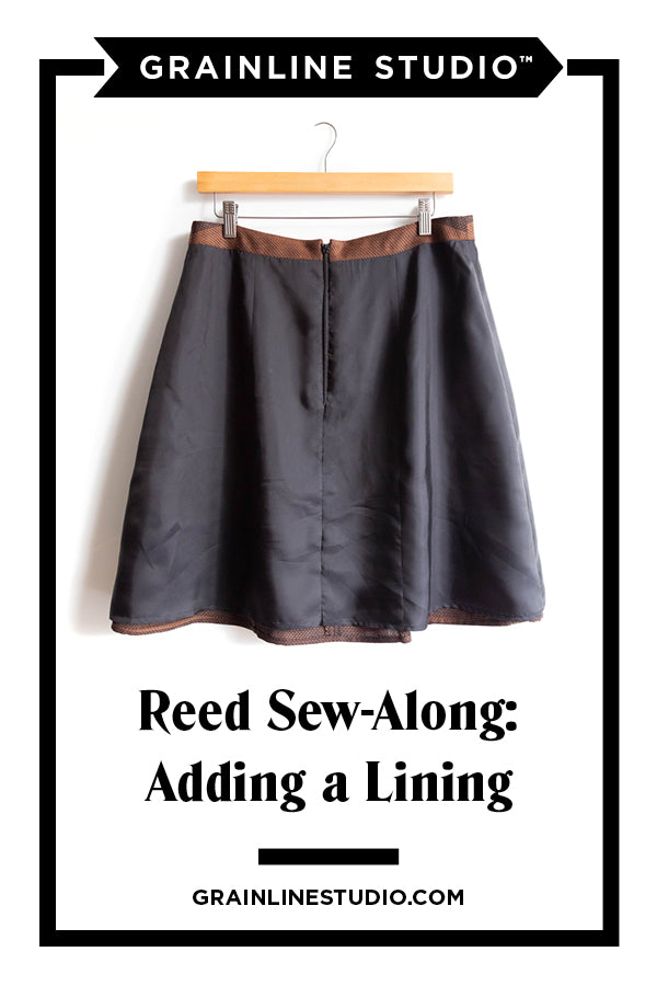 Adding a Lining to the Reed Skirt | Grainline Studio
