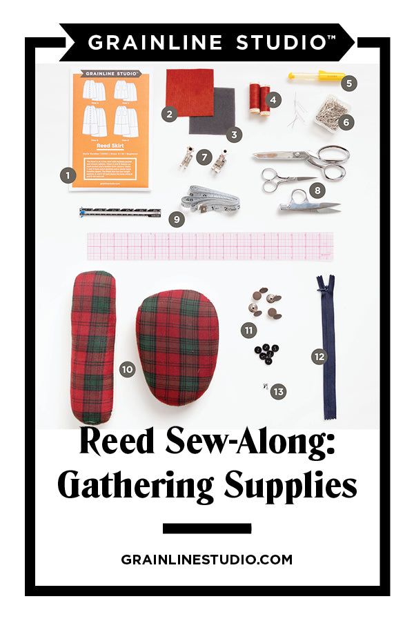 Reed Skirt Sew-Along: Gathering Supplies | Grainline Studio