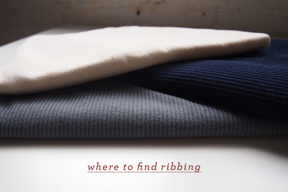 Grainline Studio | Where to Buy Ribbing