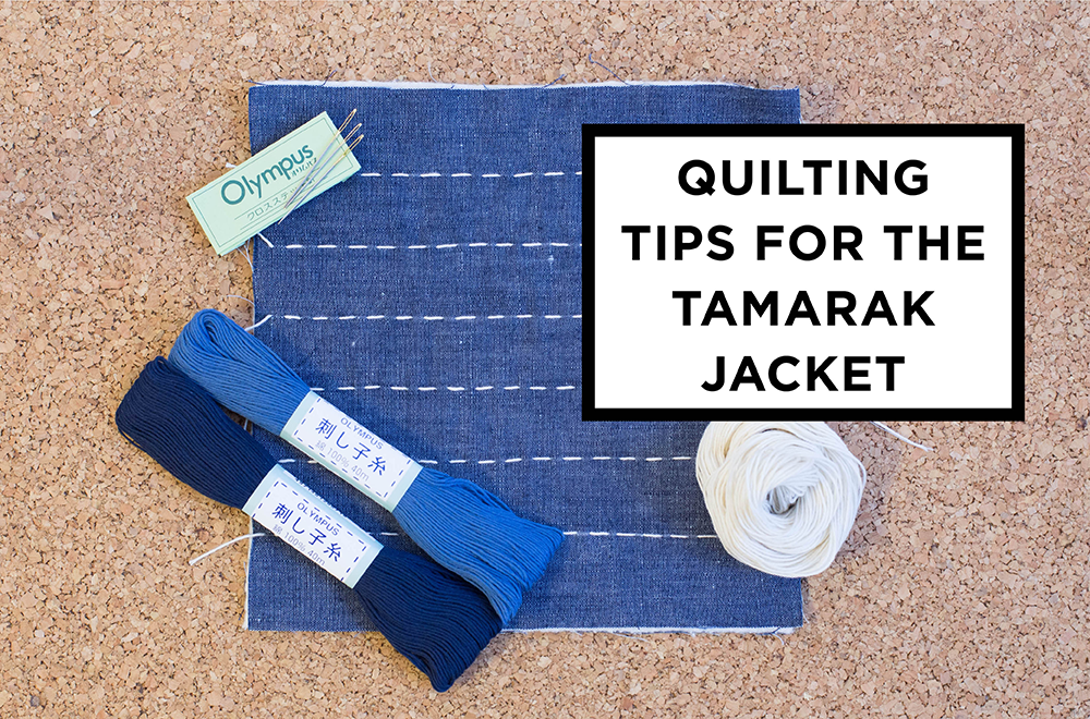 Tamarack Quilting Tips | Grainline Studio