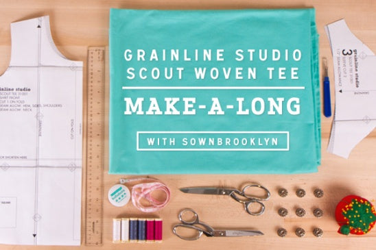 Grainline Studio | Kollabora Scout Sewalong with Sown Brooklyn