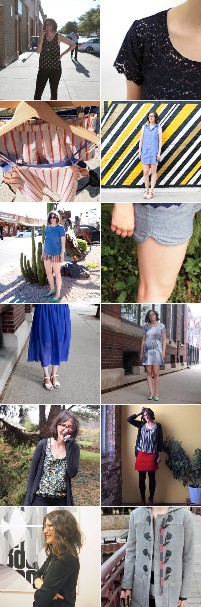 2012 Recap | Sewn Projects | Grainline Studio