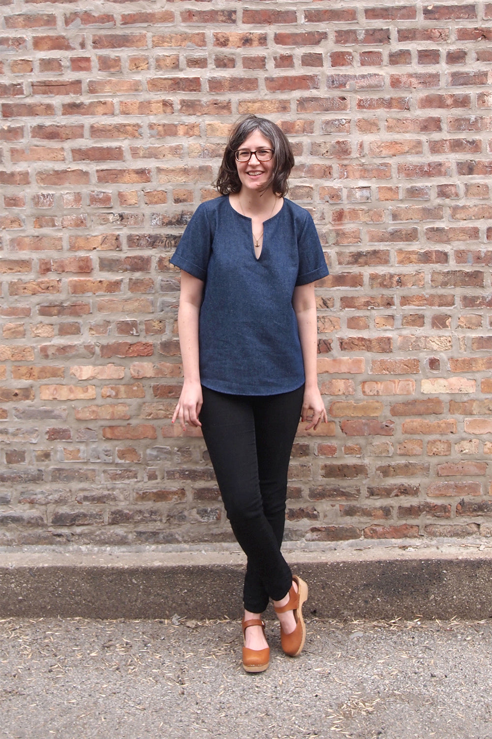 Grainline Studio | Madewell Scout Variation