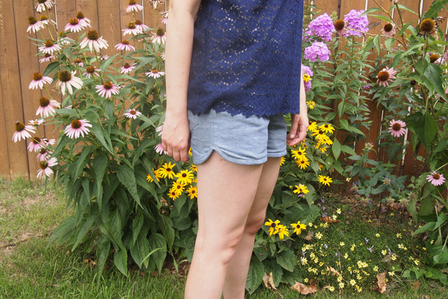 Summer Wardrobe | Denim Maritime Shorts