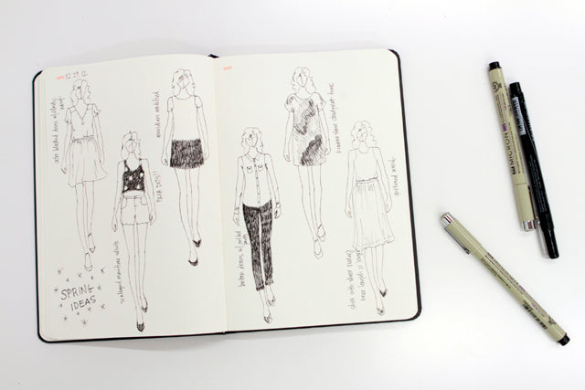 Sketching | Grainline Studio