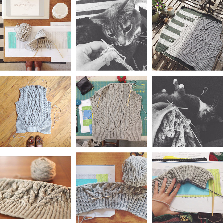 Grainline Studio | Stonecutter Progress