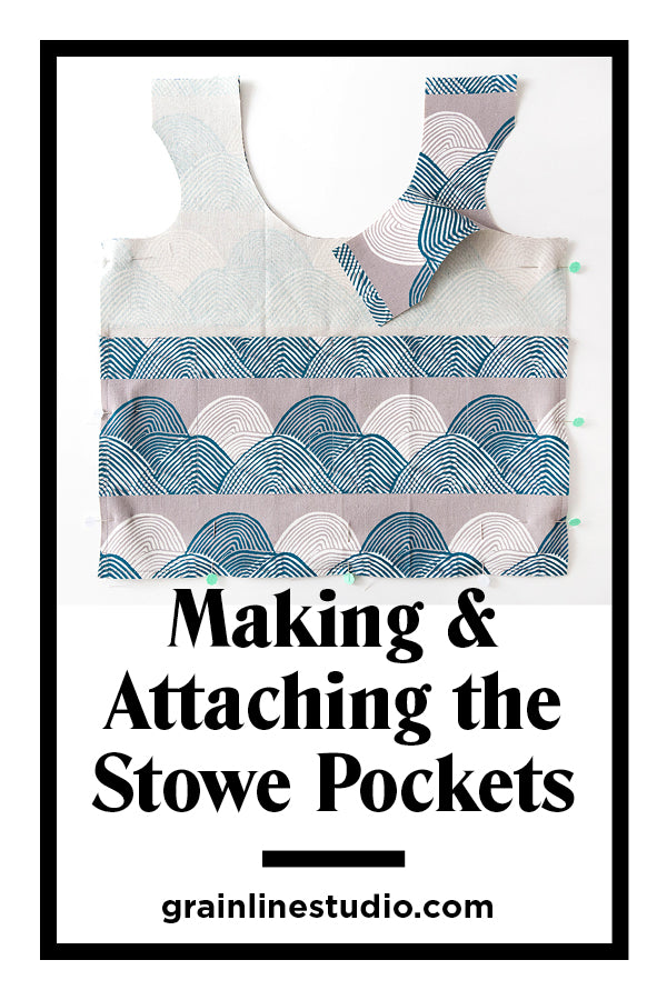 Stowe Sew-Along: Making & Attaching the Pockets | Grainline Studio