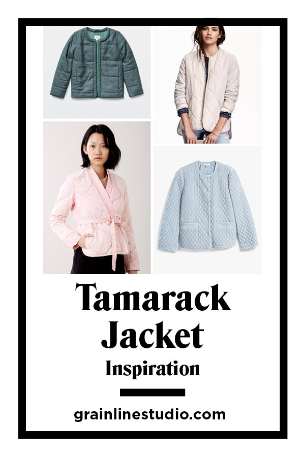 Introducing the Tamarack Jacket | Grainline Studio