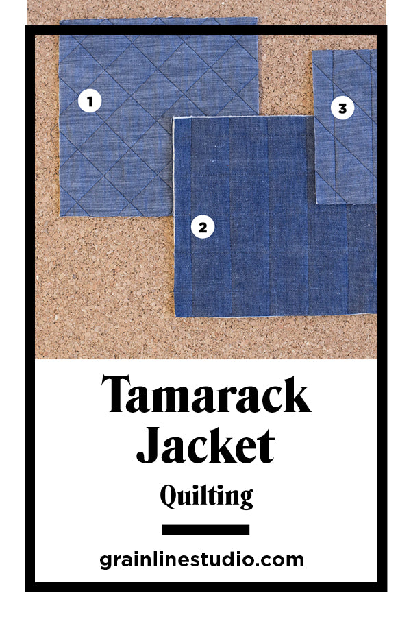 Quilting Tips for the Tamarack Jacket | Grainline Studio