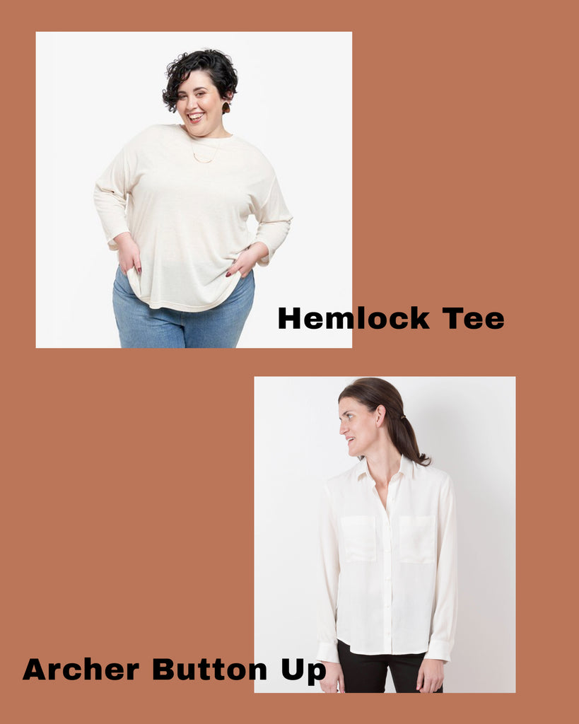 Hemlock and Archer Video Sew-Alongs | Grainline Studio