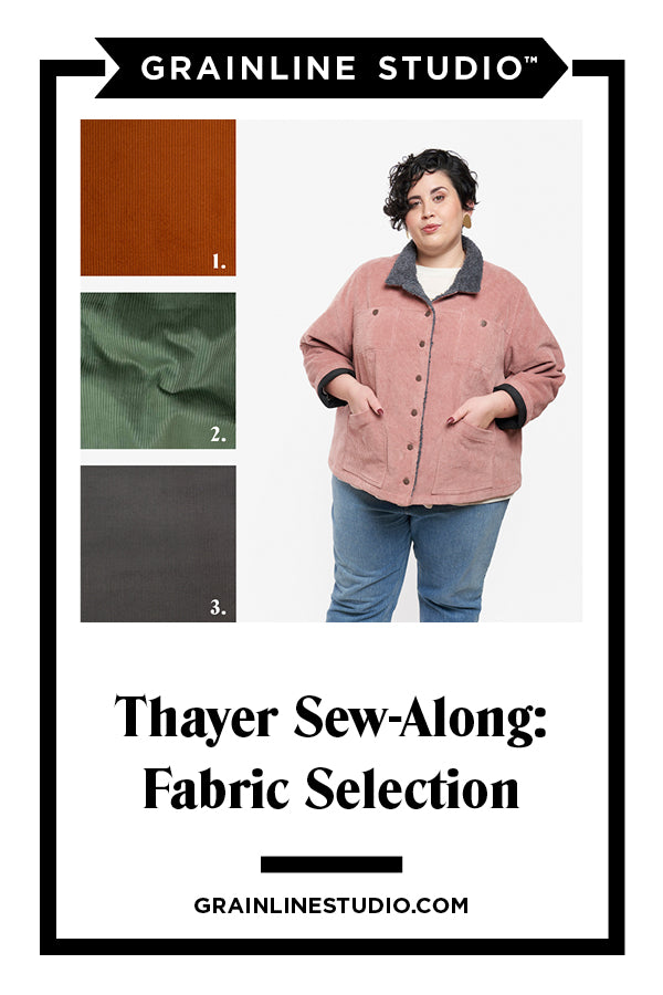 Thayer Sew-Along: Fabric Selection & Inspiration | Grainline Studio